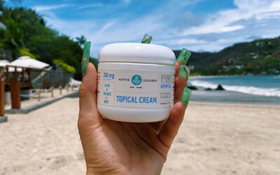 How CBD Helps Relieve Sunburned Skin